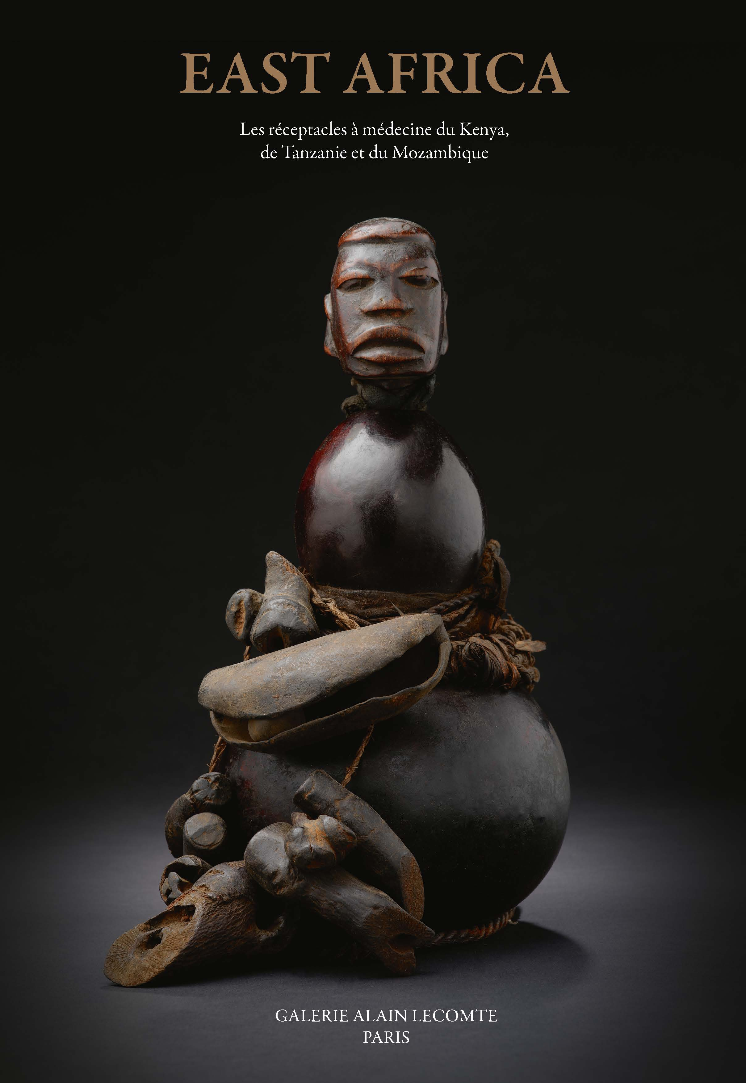 EAST AFRICA. RECEPTACLES A MEDECINE